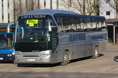 MAYNES OF BUCKIE DM11GSM (bobbyblack51) Tags: travel david bus station glasgow buckie neoplan 2015 urquart maynes of tourliner dm11gsm