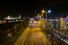 Newport (technodean2000) Tags: city uk wales night lights nikon nightscape south newport lightroom photoscape d5300