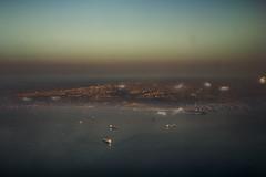Utopian (Vagelis Poulis) Tags: city blue sea sky urban seascape clouds turkey landscape dawn fly cityscape map ships flight istanbul aerial aerialistanbul