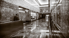 Exit from the lobby, a hallway from another time (Jeffrey) Tags: city nyc newyorkcity sky urban newyork building tourism skyline skyscraper buildings grid icons cityscape quiet view skyscrapers humanity manhattan unique icon aerial legendary lobby midtown views passion legends manmade pensive destination empirestatebuilding nomad drama legend babylon greatness koreatown doorman ktown destinations sonycam 31stfloor centeroftheworld doormen uniquenewyork nowherenearthetop noteventhemiddle