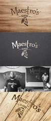 Maestro's Classic Logo & Label Design (lemongraphic) Tags: usa america logo beard typography graphic label brand branding logotype logodesign labeldesign beardlover bearwash maestroclassic