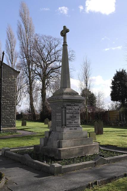 Newchurch War Memorial, Lancashire
