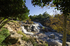 October Morning in Greenville (rschnaible) Tags: park city usa water up river walking us waterfall downtown tour south country sightseeing center tourist falls southern carolina greenville reedy