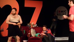 Watson27, Hour11 VIDEO: Tiernan's the Brioche Goal (Diamond Geyser) Tags: video pain comedy comic comedian brioche pleasancetheatre markwatson tiernandouieb longshow tormenttiernan rnd15 markwatsons27hourcomedymarathon watson27 27hourshow twentysevenhourshow launchingbread