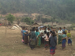 Villagers in Bokeo Nature Reserve