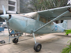US Air Force Plane in War Remnants Museum HCMC