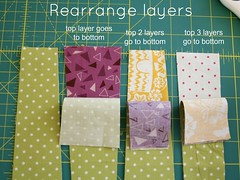 Wonky Stripes Tutorial (QuiltsByEmily) Tags: baby by emily quilt stripes quilts wonky tutorial