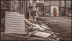 8/52 Street (Outtake) (Suggsy69) Tags: street trash nikon camden rubbish camdentown hdr highdynamicrange outtake dumped 52weekproject d5100 522015week8outtakes