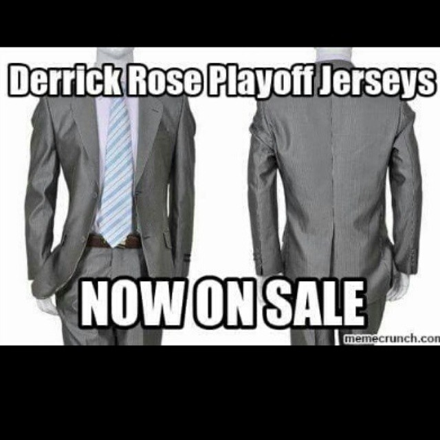 DERRICK ROSE playoff jerseys 2015 #nba
