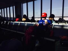 Grapefruit League (_Matt_T_) Tags: travel winter sun sunshine airport buffalo bluejays iphonography
