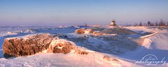 A Frozen Landscape (At Land's End Photography) Tags: winter lake snow cold ice beach lakeerie headlands
