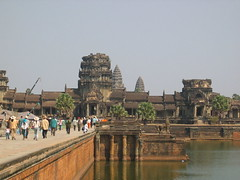 Moving Between Temples in Angkor Wat