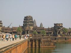 Moving Between Temples in Angkor Wat