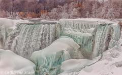 Niagara Falls, U.S.A. (Cat Starr) Tags: winter ice niagarafalls niagara falls waterfalls copyrightcatherinestarr