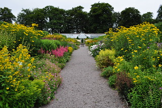 Walled-garden, Threave House (XIXe), Castle Douglas, Galloway, Dumfries and Galloway, Ecosse, Grande-Bretagne, Royaume-Uni.