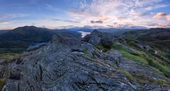 The Absence of Sense (J McSporran) Tags: sunset mountain landscape scotland trossachs lochkatrine benaan