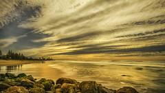 Winter Sky (BAN - photography) Tags: ocean sea seascape beach buildings seaside sand rocks surf shore beachfront hirise d810
