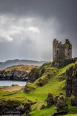Gylen Castle on Kerrera, Scotland-Neil_Alexander-08 (NeilAlexanderD) Tags: sky foothills castle monument water skyline island coast scotland europe moody cloudy unitedkingdom shoreline ruin noone nobody nopeople shore coastline brooding hillside cloudcover kerrera seawater argyllandbute eileanmusdile cumuluscloud heritagetourism soundofkerrera toshore cultureandthearts cloudtype