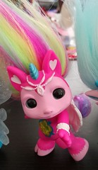 hightail close (meimi132) Tags: zelfs zelf series6 cute adorable trolls hightail crystalwishes medium rainbow pink gem unicorn