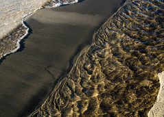 Gobels Grove, Port Elgin, July 2016 (shorten.lynda) Tags: beach portelgin water sand abstract