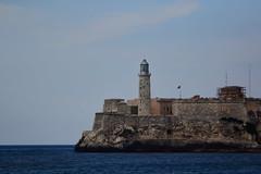 Faro. Malecn de La Habana, Cuba. (eldibeiser) Tags: malecn lahabana cuba mar faro fuerte caribe eictv cinefotografa