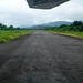 The landing strip of Reyes Murillo airport, Nuqui, Choco