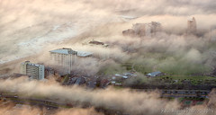 Mouille Point Mist (Panorama Paul) Tags: sunset mist fog southafrica capetown signalhill westerncape mouillepoint nikkorlenses nikfilters nikond800 wwwpaulbruinscoza paulbruinsphotography