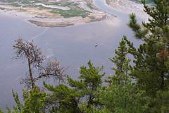 Voilier dans la baie  mare basse (montrealrider) Tags: fjorddusaguenay