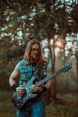 IMG_4953 (rodinaat) Tags: longhair longhairman longhairedman longhaired beard bearded metal metalhead powermetal trashmetal guitar musican guitarplayer brutal forest summer sun