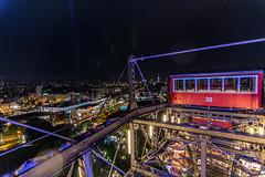 Die Lichter der Stadt - City Lights (ralfkai41) Tags: lichter night sterreich nachtausnahme citylights austria nightszene prater vienna gondel riesenrad wien big wheel
