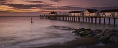 Revisted (scott.hammond34) Tags: landscape seascape dawn sunrise southwold southwoldpier suffolk eastanglia beach coast rocks groyne colour waves hightide longexposure