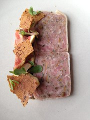 Pork Country Pate, Coquette, New Orleans (Deep Fried Kudzu) Tags: new magazine orleans louisiana fig country pork blueberry pate coquette