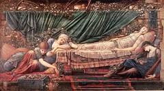 Edward Burne-Jones 'The rose bower' 1871-90 (ArtTrinArt!!) Tags: sir edward burnejones 18331898