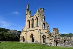 Byland Abbey Jul 2016 (Paul Thackray) Tags: yorkshire northyorkshiremoorsnationalpark hambletonhills coxwold bylandabbey englishheritage abbey 2016