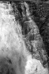 Kakabeka Falls (charlottehathawayfeatherstone) Tags: kakabeka falls ontario canada blackandwhite monochrome water outdoor
