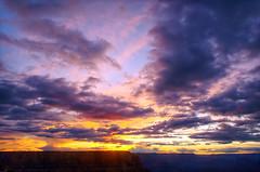 DSC_0516 yavapai point sunset hdr 850 (guine) Tags: grandcanyon grandcanyonnationalpark canyon rocks clouds sunset yavapaipoint hdr qtpfsgui luminance