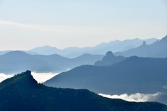 Kind of Blue (jacques_teller) Tags: spain espaa picosdeeuropa blue mountain milesdavis receedingcolours nikon d7200 clouds mist landscape silhouette skyline