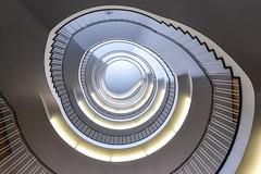 Regierung looking up *Explore* (sarah_presh) Tags: munich regierungvonoberbayern spiral staircase germany lights nikond750