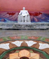 DPRK, The Last Socialist Paradise (MarcoFlicker) Tags: dprk north korea pyongyang kim il sung library