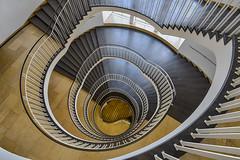 Yin and Yang (sarah_presh) Tags: regierungvonoberbayern munich germany spiral staircase nikond750 yin yang