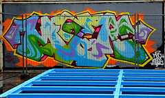 graffiti amsterdam (wojofoto) Tags: amsterdam graffiti wojofoto wolfgangjosten nederland holland netherland moen ndsm