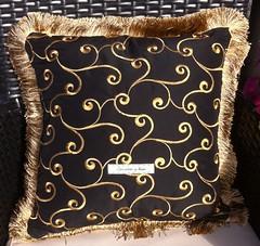 Zandra Rhodes Byzantine Head Pillow (victowood) Tags: handmade needlepoint pillow sublime stitching