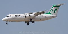 BAe 146-300 (EP-MOM) MAHAN AIR   DUBAI   DXB-OMDB (Ediney Ribeiro) Tags: dubai airport aircraft airbus a380planespotting spotter