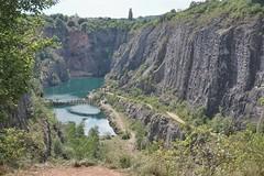 Velk Amerika (Czech Grand Canyon) (beyondhue) Tags: big amerika velka lom morina czech republic beyondhue landscape mine abandoned quarry summer