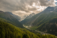 Before the storm (Carles Alonso photo) Tags: climbing freedom river hiking landscape storm tree nature cliff switzerland trekking outdoor matterhorn swiss tour clouds mountains snow sky wallpaper wildlife mountaneering travel forest photography wideangle public green nikon light cervino valley