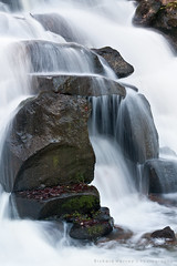 Cascade (richexposure) Tags: landscape virginiawater waterfall windsor windsorgreatpark long exposure canon water misty