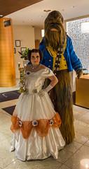 IMG_5500.jpg (Evil Benius) Tags: dragoncon2015 convention disney beautyandthebeast wookie belle chewbacca cosplay costume starwars princessleia atlanta georgia unitedstates us