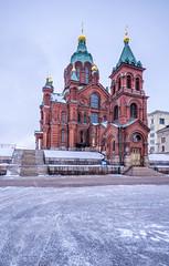 Helsinki (Tim Benedict Pou) Tags: city trip travel winter vacation holiday architecture photography helsinki nikon finnland cathedral orthodox reise uspenski 2015
