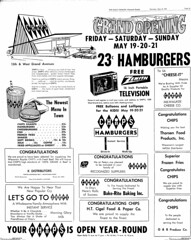wisc 5-18-72chips (roadsidequest) Tags: chips rapids hamburgers cocacola hardees wisconson