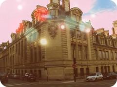 pastel lights (mariasforzesca) Tags: city urban paris france colour building vintage lights boulevard magic pale pastels translucid